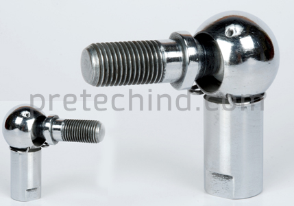 products of pre tech industries angular ball joint rod ends